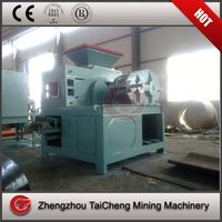 carbon steel slag ball briquette machine