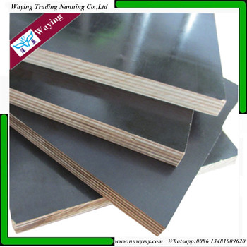 black film faced marine plywood 18mm with eucalyptus core