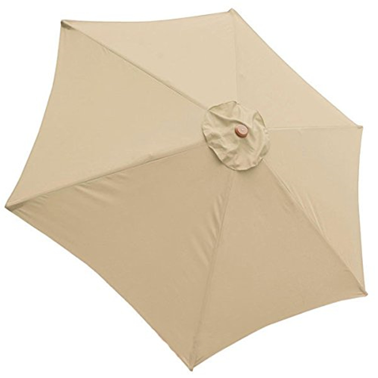 UV protection wood frame patio parasol umbrella for garden