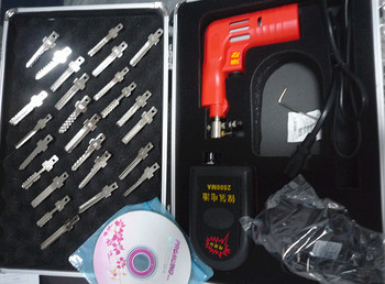 Locksmith tools--NEW full function electric Lock Pick Gun set vision 2