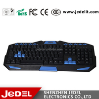2015 fashion and latest computer multimedia keyboard with 9 hot keys