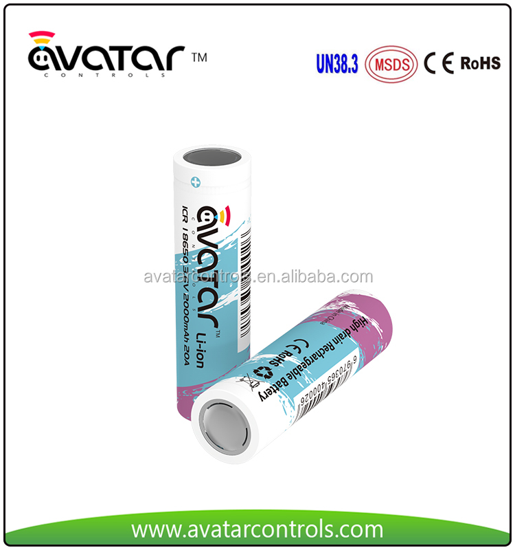 Li-ion 18650 Battery Lithium ion Battery 18650 3.7V li ion Battery Pack