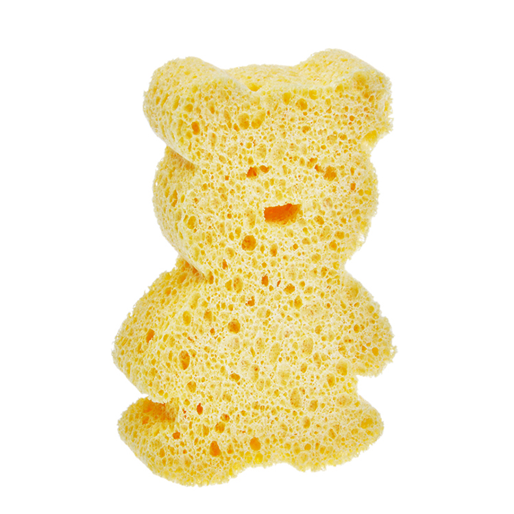 (CE-008) product new compressed cellulose sponge doll making with kitchen clean sponge