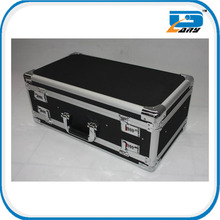 Black double-side opening aluminum gun box
