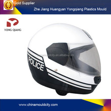 Plastic motor half face helmet injection mould manufacture