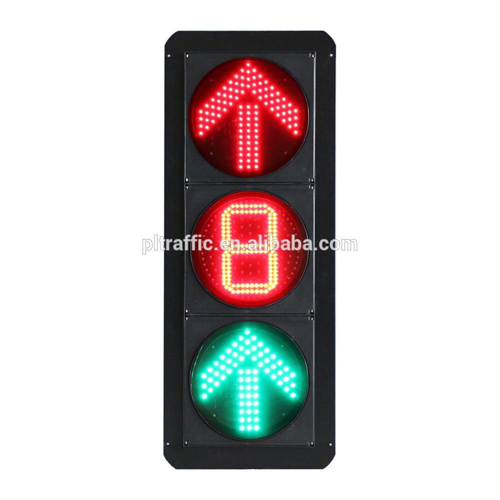 Import red yellow green light led traffic light car turning direction light