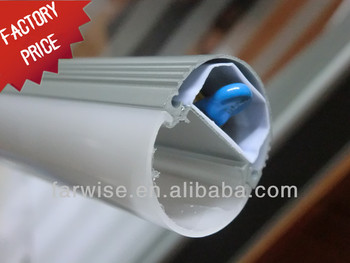 PC Plastic T8 Oval LED Tube Cover 600mm T8-3A