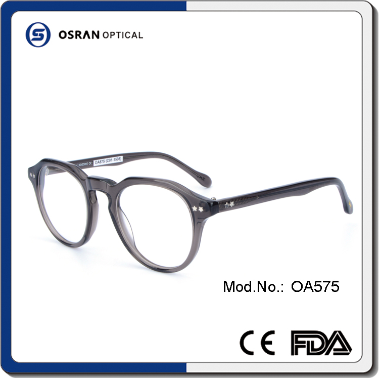 New Products Unique Design Wholesale Acetate Eyeglasses Spectacle Frame China