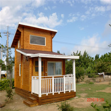wooden prefab house with low price