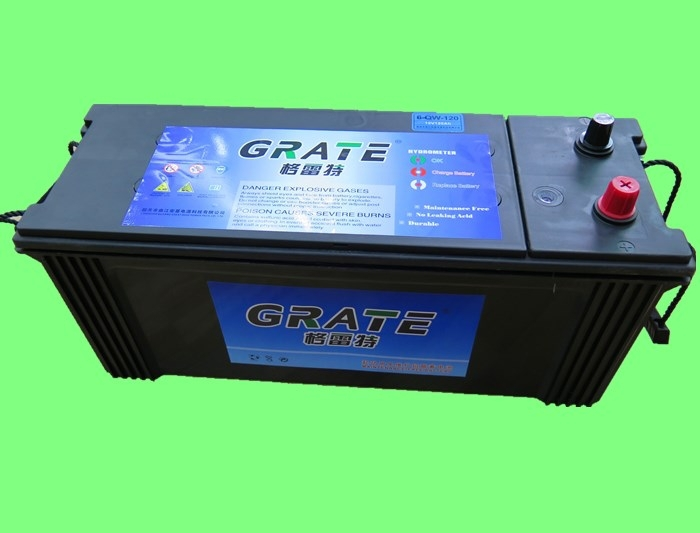 greatbase best car battery brands 135ah 12V sealed maintenance free Heavy duty big truck battery 12v 63513