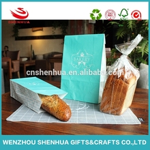 New design reusable durable food packing bag,kraft paper shopping bag with handle