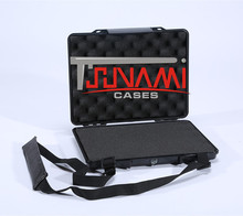 Tsunami Waterproof Laptop Case Hard Plastic Carrying Case for ipad