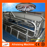 Adjustable Gestation Sow Stall with Stainless Steel Feeder