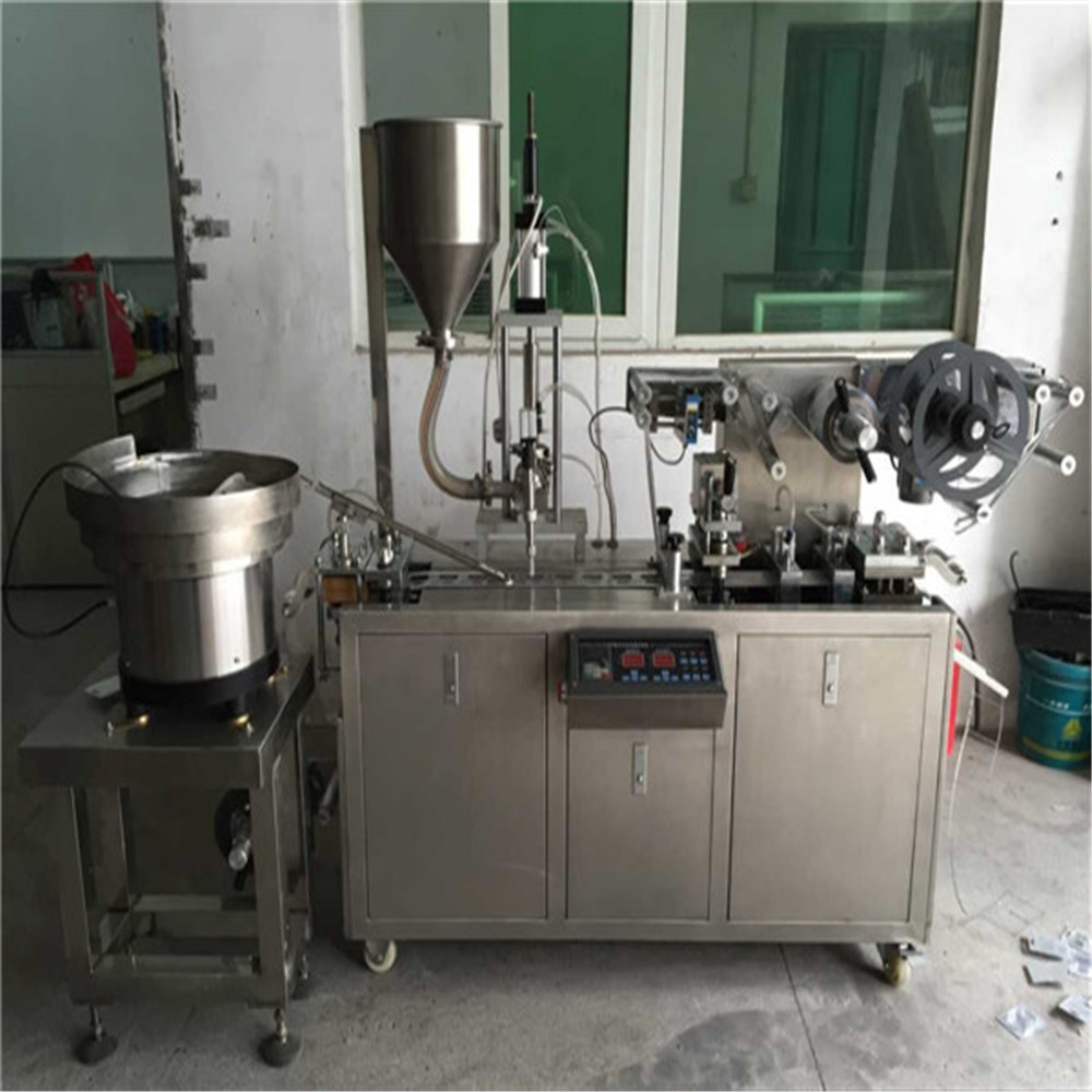DPP-80 automatic small cup thermoforming forming filling sealing machine for plastic cup