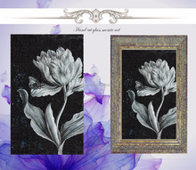 high end 2015 new style mosaic art, art crystal glass mosaic