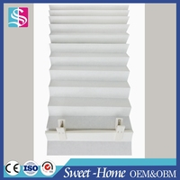 Europe style pleated window paper curtains up blinds in new design