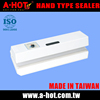 Special taiwan made white cutting and sealing machine for plastic bags