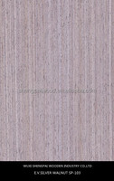 0.5mm 1mm thickness engineered walnut wood veneer sheets made from log for door skin