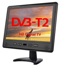 17inch 12V DC Portable HD Freeview TVwith H-D-M-I port, DVB-T and DVB-T2 Tuner / PVR / Multimedia Player [Energy Class A]