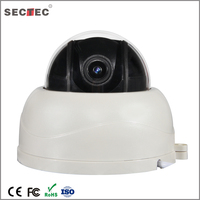 Mini Type 2.5 inch indoor plastic IR speed dome 2.8mm~8mm 3x Optical Zoom PTZ IPCamera
