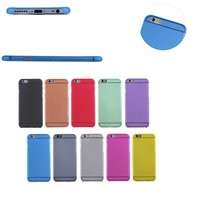 Ultra thin slim 0.3mm hard back pc cover case for apple iPhone 5 5S 6 6 plus