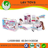 2013 The most popular High quality Plastic toy Doll Set for children/kids play with EN71