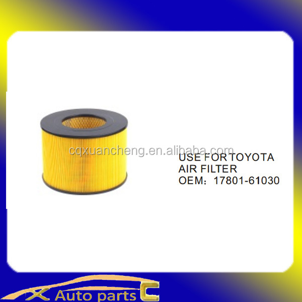 Car air filter for Toyota17801-61030