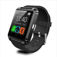 Built-in altimeter sync mobile phones smart watch u8 with Multi language