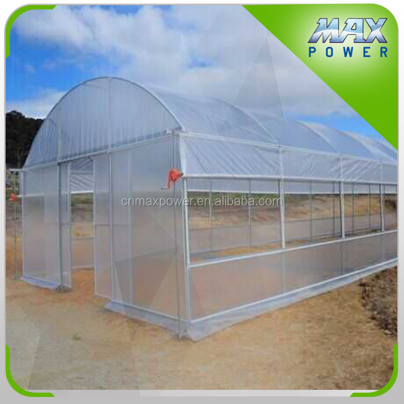PE Agriculture polytunnel greenhouse for sale