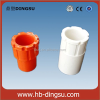 Alibaba Selling PVC Pipe Fittings 20mm Plastic Male Bushes