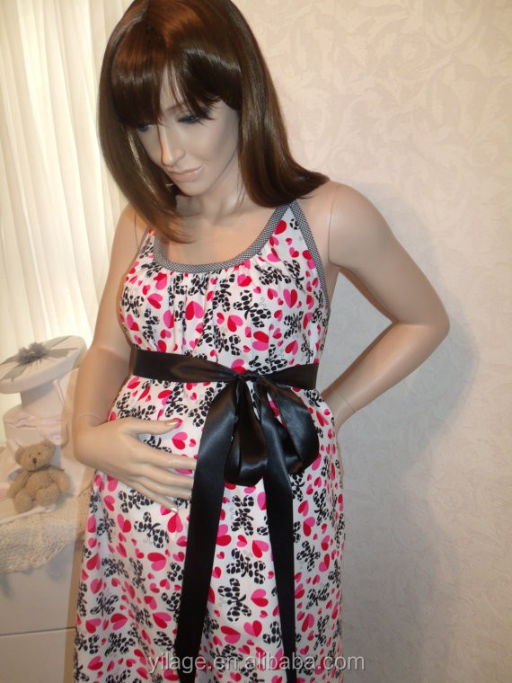 Print Maternity Hospital Delivery Gown L2007
