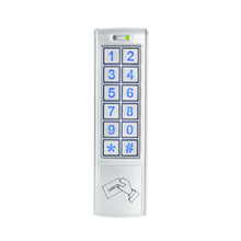 Password and card unlocking waterproof standalone access control