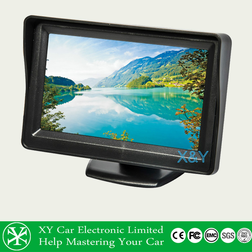 On-board desktop 4.3 -inch monitor Yang new models Reverse priority function XY-2036