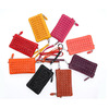 European Colorful Mini Coin Wallets Shopping Rivet Money Wallets