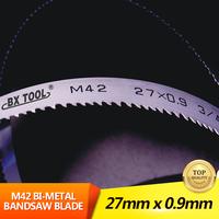 Metal cutting tool 27X0.9X4/6 tpi M42 bimetal bandsaw blades
