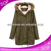 High- quality new arrival zipped pea coat with adjustable belt wholesale