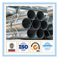 thin wall erw carbon hot dipped galvanized steel pipe support