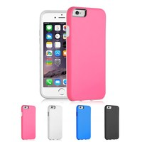Hybrid TPU+PC Heavy Duty Protective Cell Phone Case Cover For iPhone 6