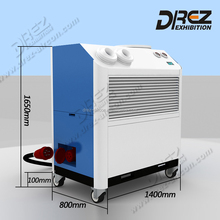 Drez 4 ton Portable Air Conditioner Packaged 5HP AC- for Tent/ Office