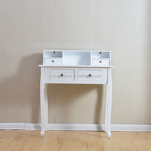 Modern bedroom vanity make up table/ white dresser with stool