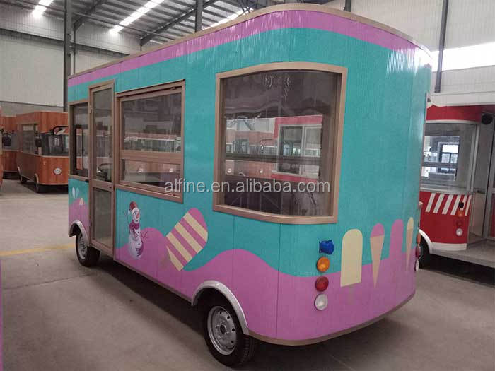 hot selling popular tricycle food truck