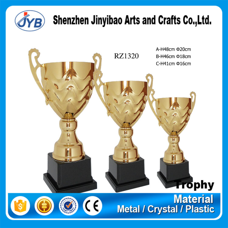 Gold Type and Metal Material world cup trophy replica