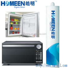 high temperature rtv electronic silicone sealant for micro-oven heat resistant silicone sealant
