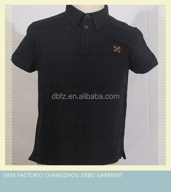 100% men's cotton polo t shirt for high quality