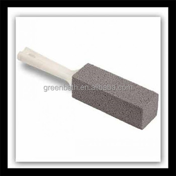household use toilet pumice brush stone with handle exporter