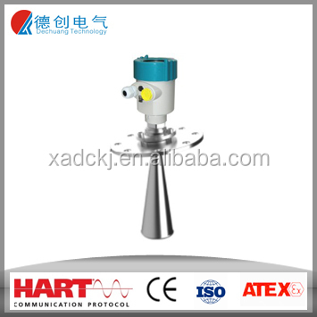 Solid Radar Level Transmitter for wood flour/coal nuts /Radar Water & Solid Level Measuring Instruments/Grain Bin Level Sensor