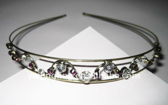 fascinator crystal hairband
