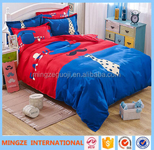 Comfortable 100% cotton baby crib bedding set