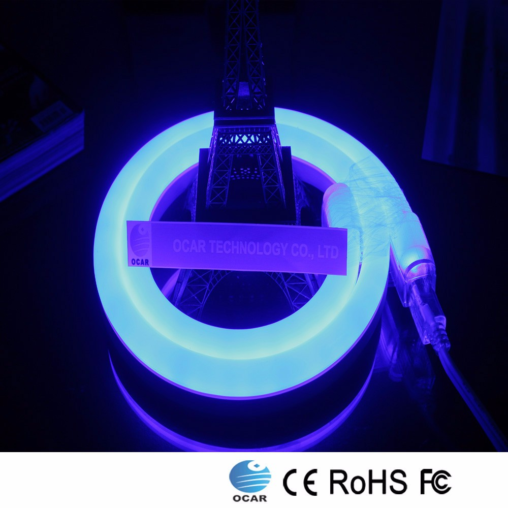 high voltage waterproof led neon flex with plug ,,led flex tube warm/cool white/R/G/B/RGB,led neon rope light