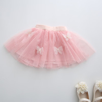 LL09 2-7 Age Children Lace Skirt Baby , Girl Tutu Skirts Girls , 2016 New Kids Bowknot Cute Lace Pleated Short Skirt